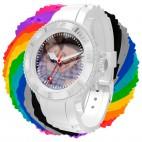 Orologio foto personalizzabile silicone