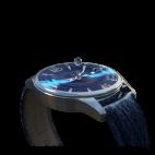 Orologio su misura personalizzato con cinturino di tessuto